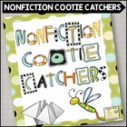 Cootie Catcher Nonfiction Comprehension