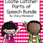 Cootie Catcher - Parts of Speech Set