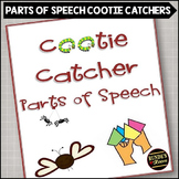 Cootie Catcher Parts of Speech