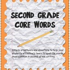 Core Words Spelling Freebie