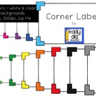 Corner Tab Labels {Kady Did Doodles}