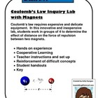 Coulomb's Law Inquiry Lab with Magnets