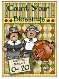 Count Your Blessings - Thanksgiving Cards to Count By