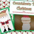 Countdown to Christmas {A Santa Craftivity}