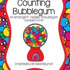 Counting Bubblegum - An Emergent Reader focusing on numbers 0-10