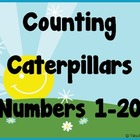 Counting Caterpillars - Learn numbers 1-20