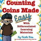 Counting Coins Made Easy with Differentiated Materials