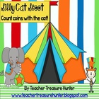 Counting Coins with the Cat!  A Scoot game or activity center