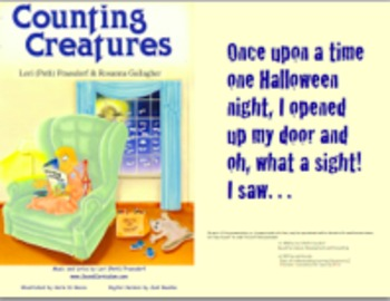 Counting Creatures: Halloween Counting Story, Song, Math a
