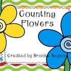 Counting Flowers {Freebie}