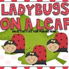 Counting Ladybugs  Activity Kit for Nine