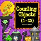 Halloween ~ Counting Objects 1-20