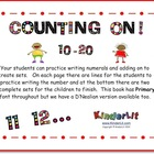 Counting On!  10 - 20 (Primary Font)