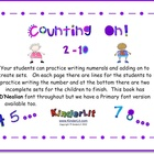 Counting On!  2 - 10 (D'Nealian Font)