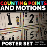 Counting Points and Motions [Education to the Core]