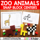 Zoo Snap Cube Center {Simply Kinder}