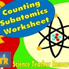 Counting Subatomic Worksheet