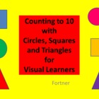 Counting With Circles Squares and Triangles for Visual Learners