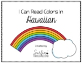 Counting and Colors in Hawaiian