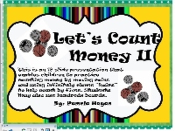 Let's Count Money II