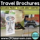 Country Research & Brochure Project {Common Core Aligned-U