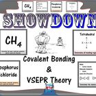 Covalent Bonding & VSEPR Showdown Review Cards
