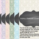 Cover Pages for TpT sellers or for your classroom {Fabric