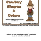 Cowboy Shapes and Colors - 12 Shapes and Colors - Wild Wes