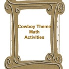 Cowboy/Western Theme Math Packet