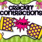 Crackin' Contractions! Christmas Interactive Notebook Acti