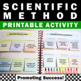 Scientific Method Interactive Notebook Activities Science