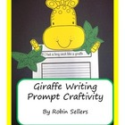 Craftivity: Giraffe Writing Prompt