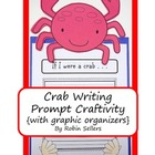 Craftivity: Ocean Crab Writing Prompt