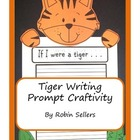 Craftivity: Tiger Writing Prompt