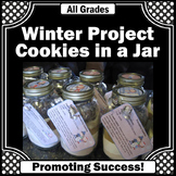 Christmas Crafts Gifts in a Jar Cookies Recipe Gift for Te