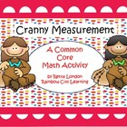 Cranny Measurement: A Common Core Thanksgiving Math Activity