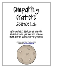 Crater Comparison Science Lab Packet