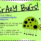 Crazy Bugs Sight Word Game (Dolch Pre-Primer)