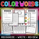 Color Words Workbook