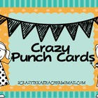 Crazy Punch Cards