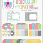 Create Your Own Digital Cover Kit: Happy Theme
