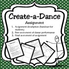 Create a Dance Project