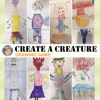 Create a creature fun group drawing and writing activity