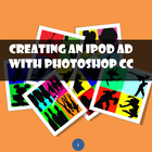 iPod ad with Adobe Photoshop CS3, CS4