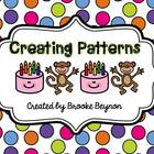Creating Patterns - Cut and Paste Activities