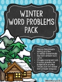 Creating and Solving Math Word Problems - Winter Edition