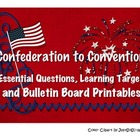 Creating the Constitution Essential & Leading Questions an
