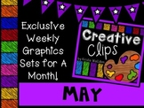 Creative Clips Club May {Creative Clips Digital Clipart}
