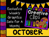 Creative Clips Club October {Creative Clips Digital Clipart}