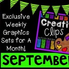 Creative Clips Club September {Creative Clips Digital Clipart}